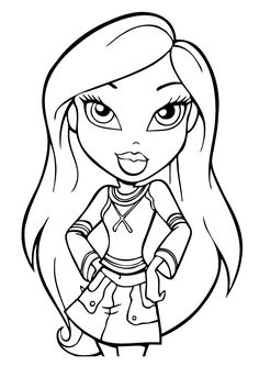 Collection Of Bratz Clipart Free Download Best Bratz Clipart On