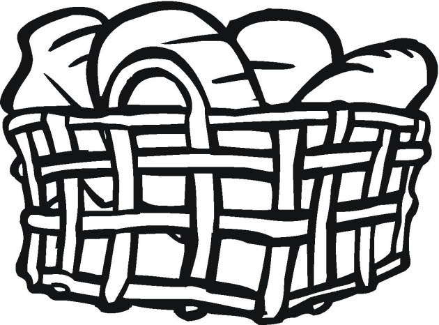 630x466 Bread Basket Coloring Pages