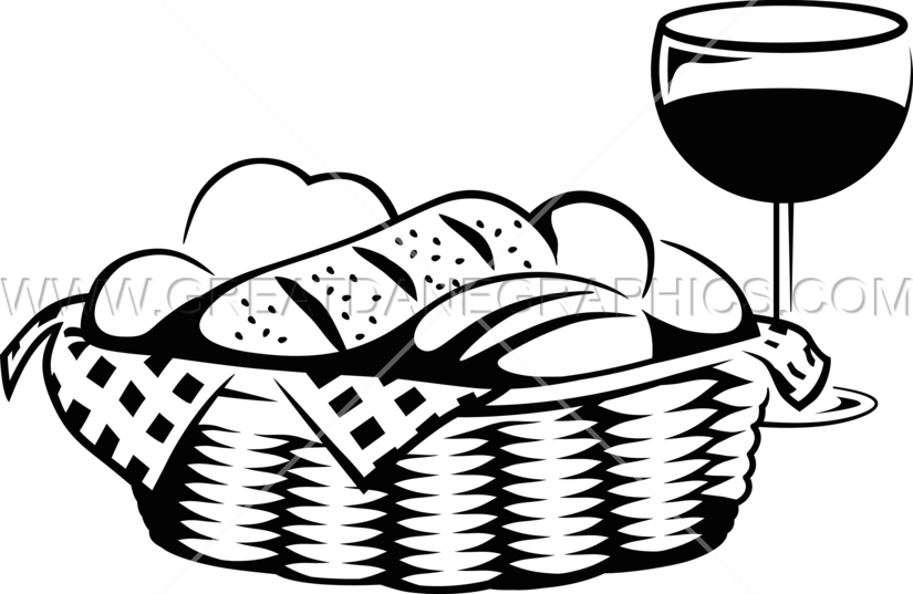825x537 Collection Of Free Basket Vector Bread Download On Ui Ex