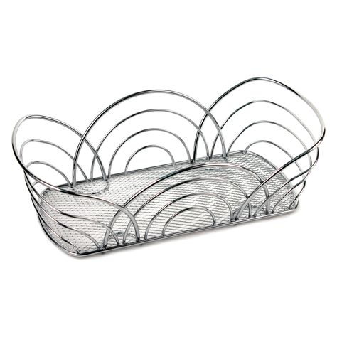 474x474 Spectrum Diversified Flower Bread Basket Black Products