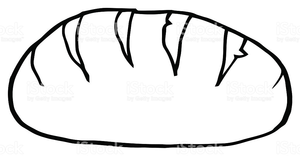 1024x532 Bread Drawing Piece Bread For Free Download