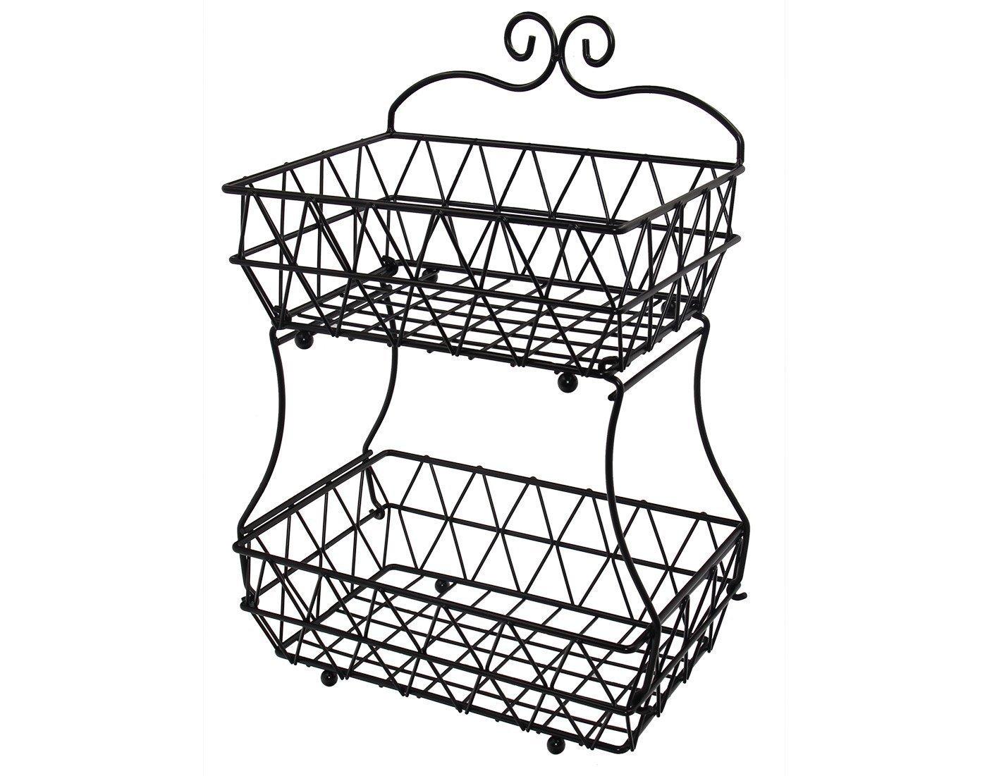 1400x1101 Esylife Upgraded Version Tier Fruit Bread Basket