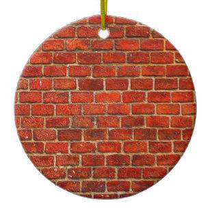 307x307 brick wall ornaments keepsake ornaments zazzle