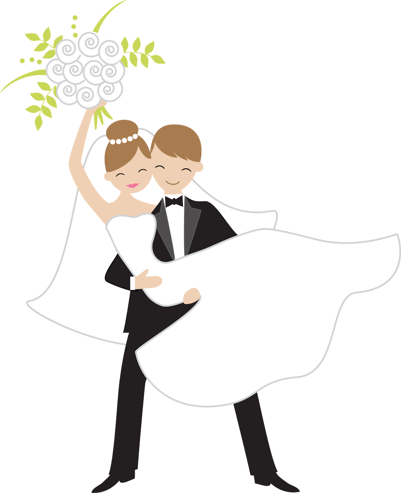 1302x1600 Collection Of Free Bouquet Drawing Bridal Download On Ui Ex