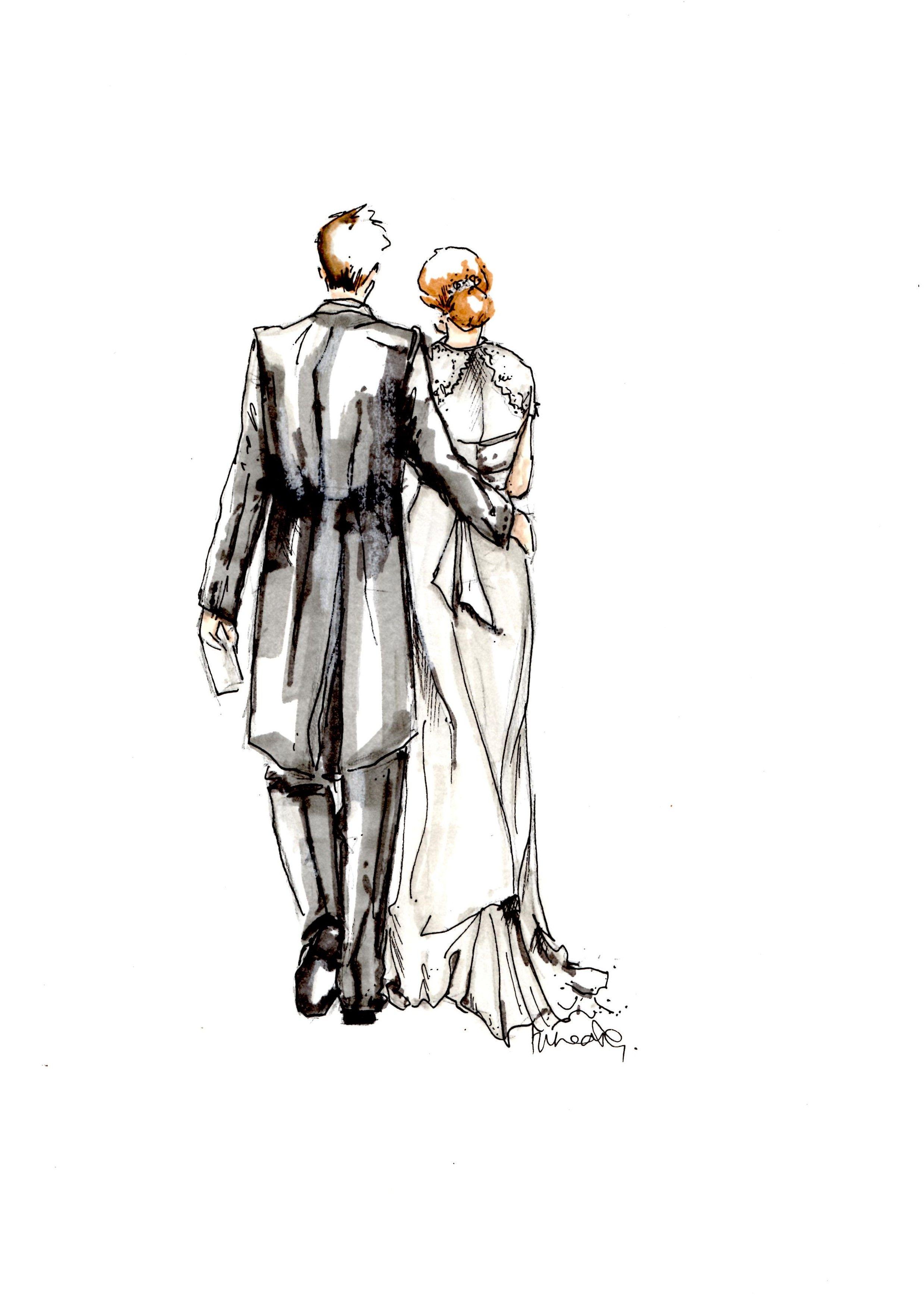 2477x3500 Bride And Groom Sketch Creatively Wedding Prints, Wedding