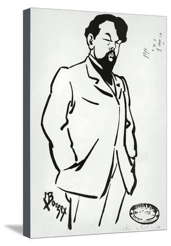 340x488 France, Paris, Portrait Of Claude Achille Debussy Giclee Print