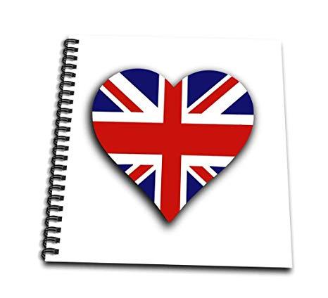 466x424 Db British Flag Heart Up Union Jack For England