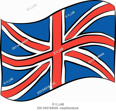 492x470 Hand Drawn British Flag Stock Photos And Images Age Fotostock