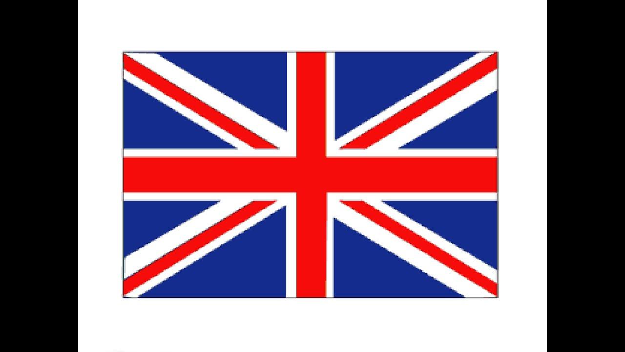 1280x720 How To Draw A British Flag Kak Narisovat Flag Velikobritanii