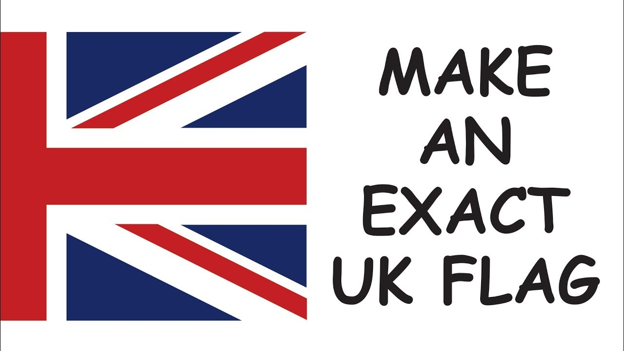 1280x720 How To Make The Union Jack In Corel Draw
