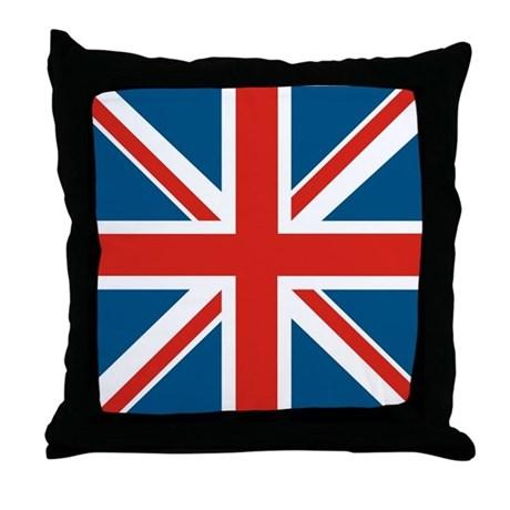 460x460 Old Antique Uk British Union Jack Flag Pillow Zazzle Costco Pillow
