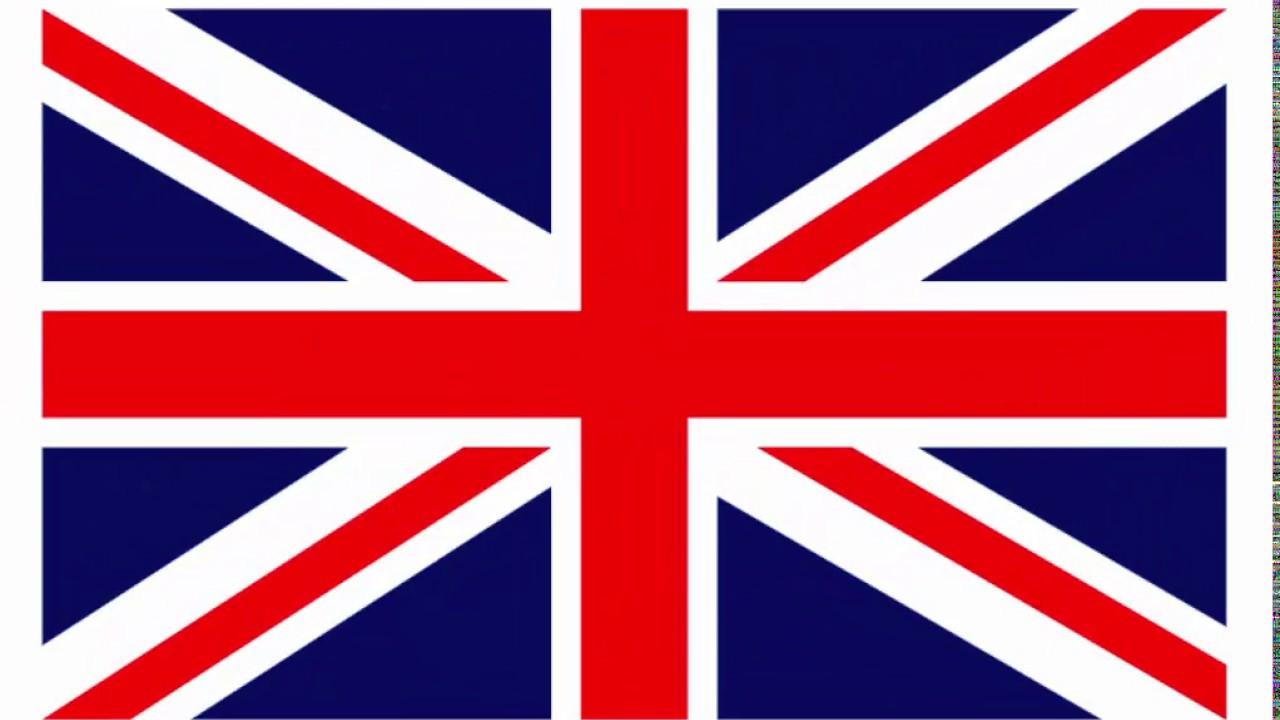 1280x720 Uk, England Flag