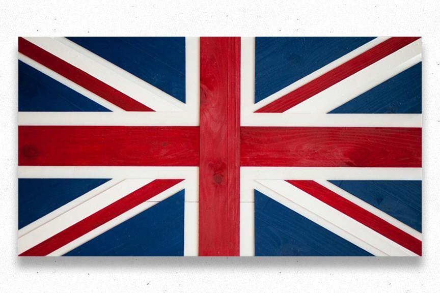 864x576 Union Jack Wood Flag Hello Wood Flag, Wooden Flag, All Flags