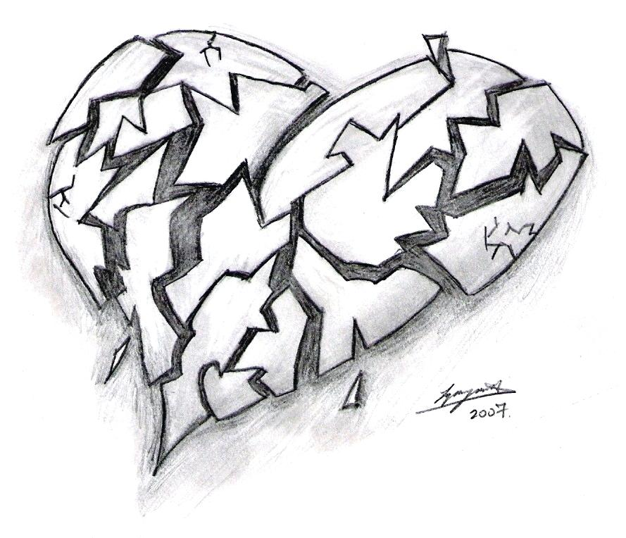 Broken Heart Drawings In Pencil Free Download Best Broken
