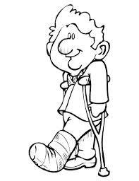 Broken Leg Drawing