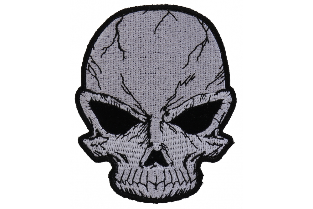 1000x667 small cracked skull patch grey skull patches thecheapplace