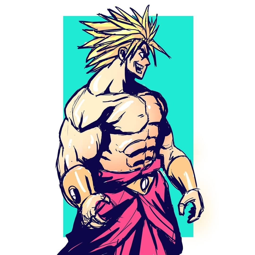 1080x1080 i heard broly is gonna be in the dragon ball super movie one