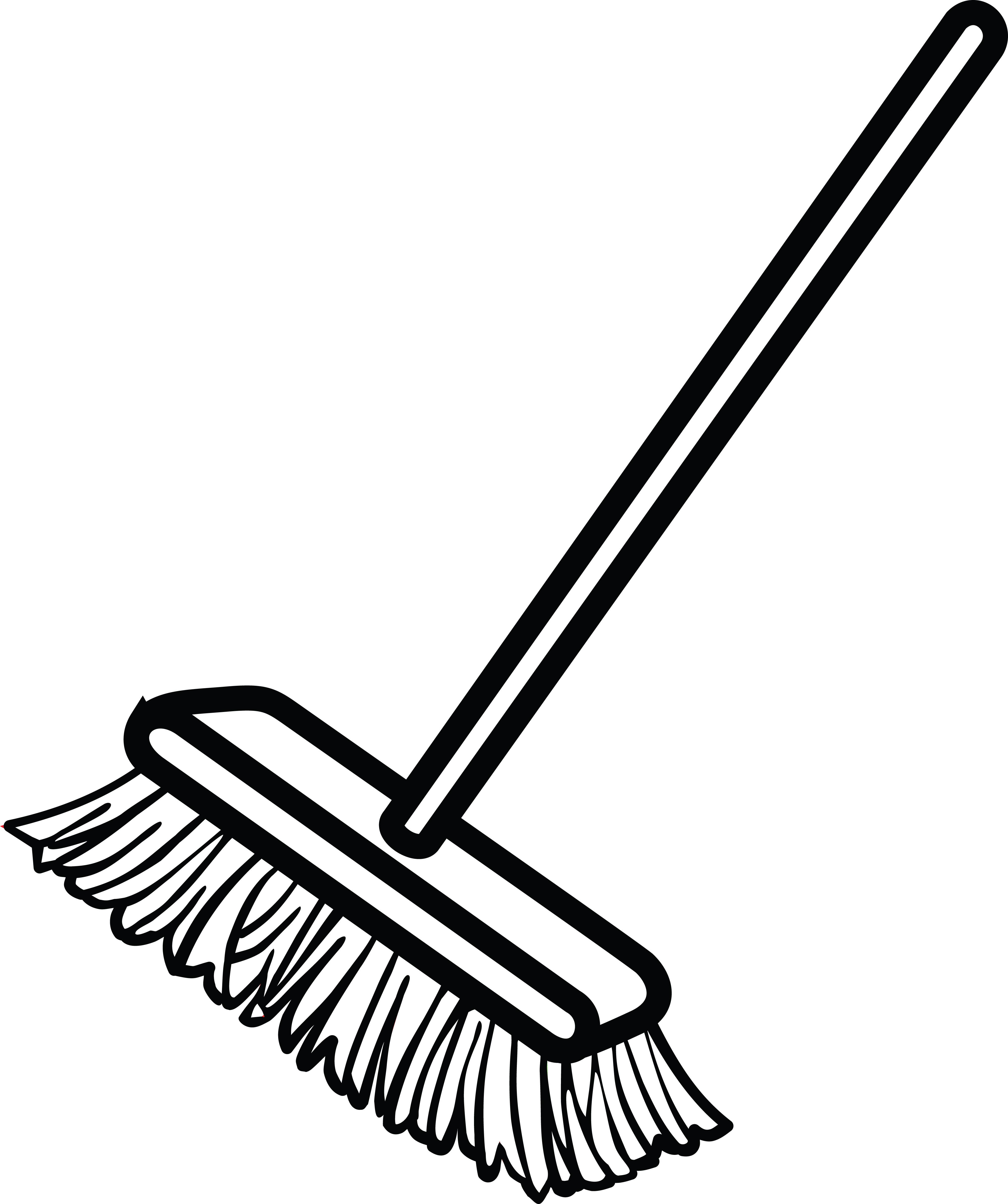Broom Drawing