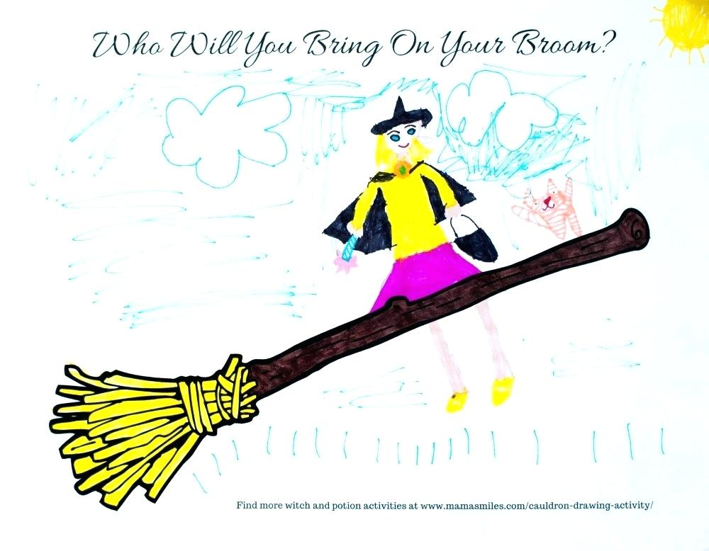 1000x778 drawing of broom how to draw a broom witch broom drawing easy
