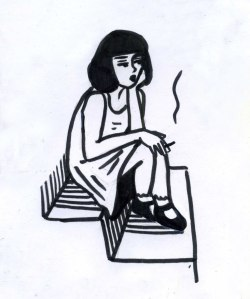 250x299 bruise cross rookie sad girl stick and poke