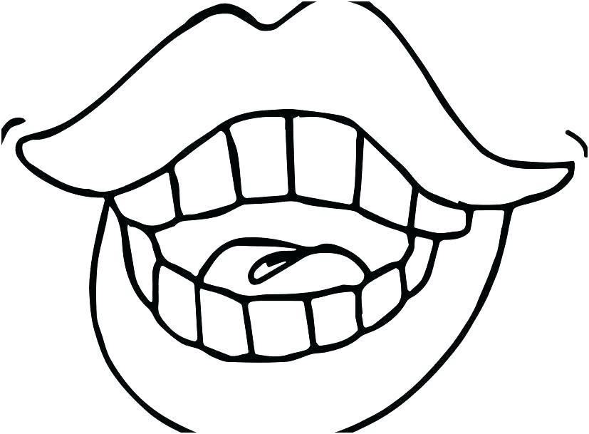 827x609 teeth coloring teeth coloring pages brush your teeth coloring