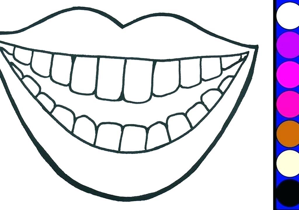 1024x720 teeth coloring brushing teeth drawing brushing teeth coloring