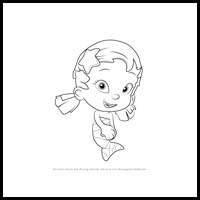 Bubble Guppies Drawing | Free download best Bubble Guppies Drawing
