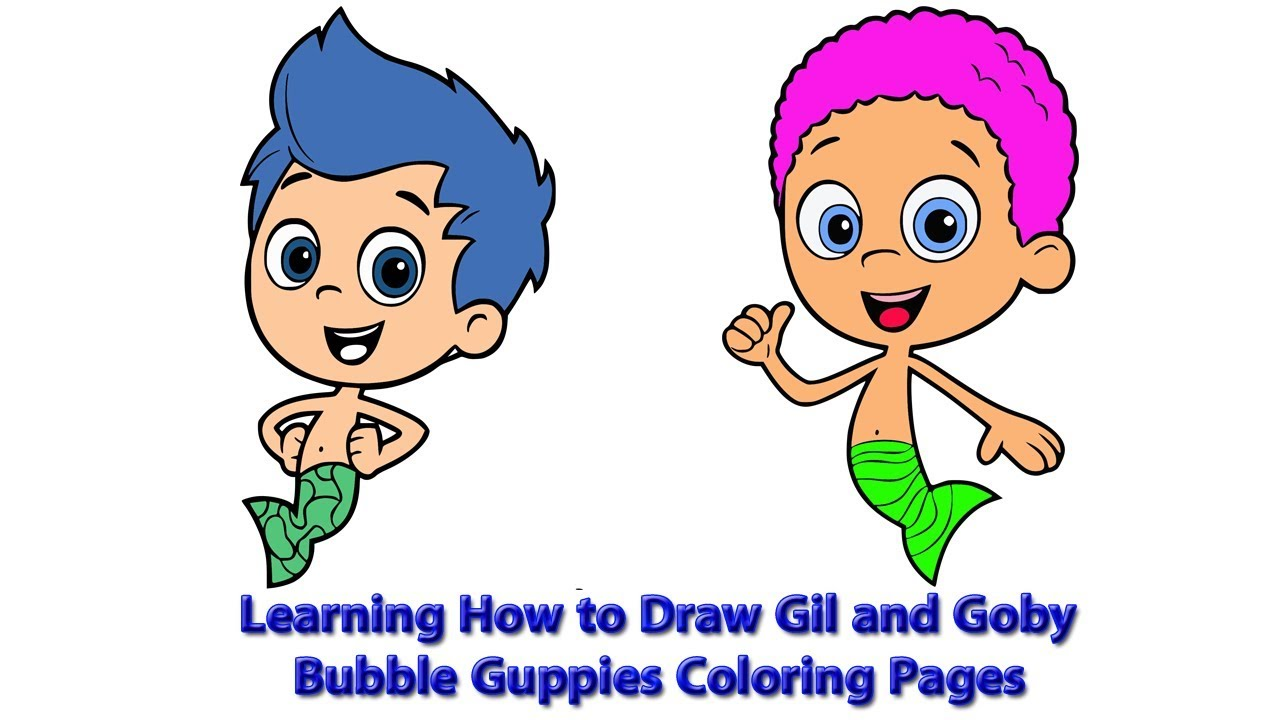 Bubble Guppies Drawing   Free download best Bubble Guppies