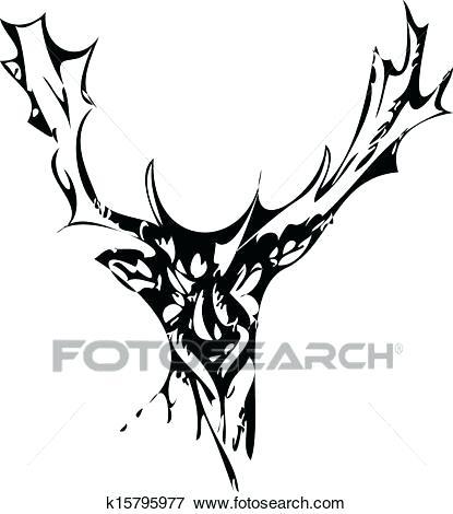 415x470 Dear Drawing Buck Deer Deer Head Drawing Tutorial Zupa