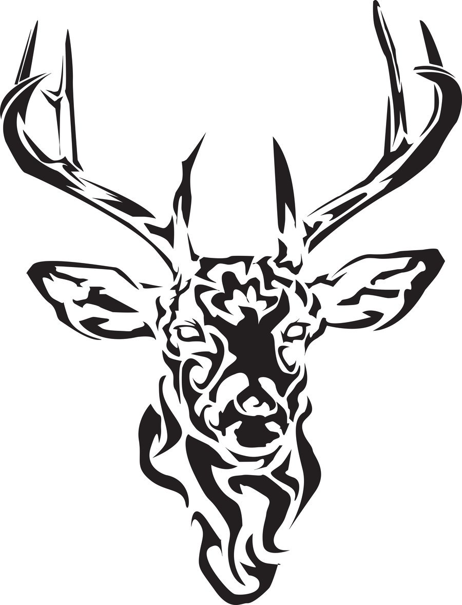 900x1178 Buck Drawings Tribal Tattoos For Men Ideas And Designs