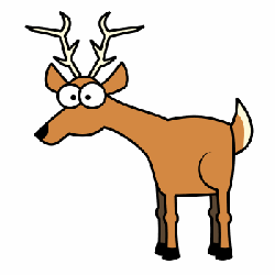 250x250 How To Draw Deer Drawing Tutorials Drawing How To Draw Deer