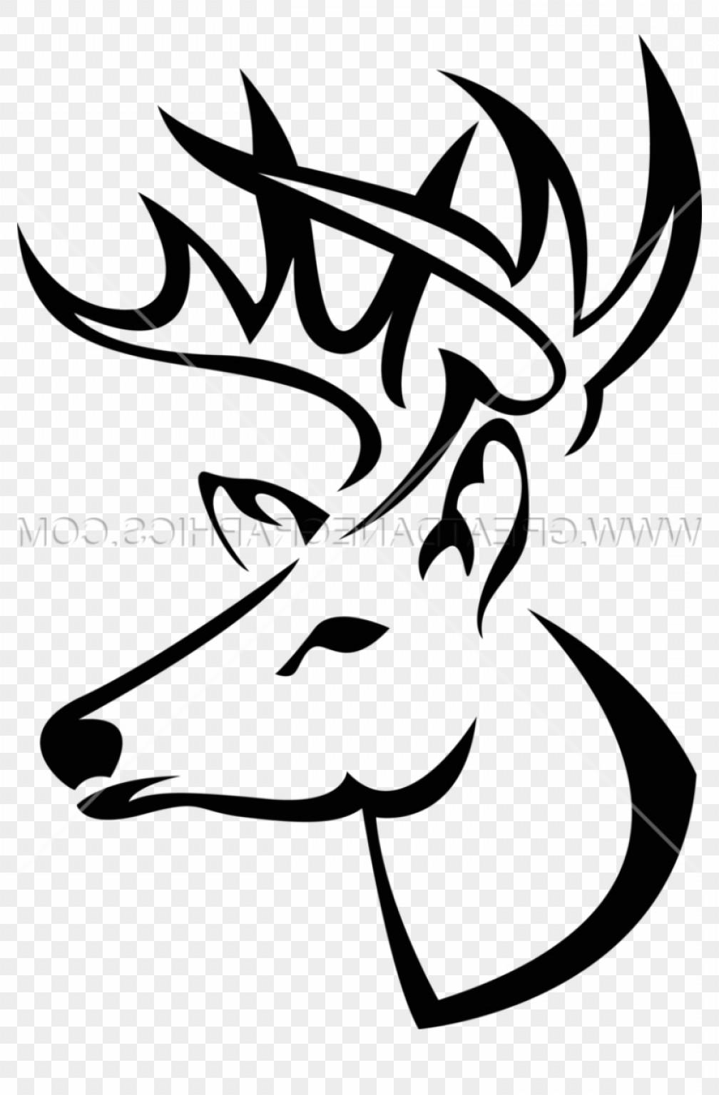 1008x1536 Miadbmbadeer Skull Art Download Buck Head Line Drawing Soidergi