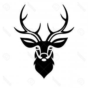 300x300 Stock Photo Drawing Sketch Style Illustration Of A Red Deer Stag