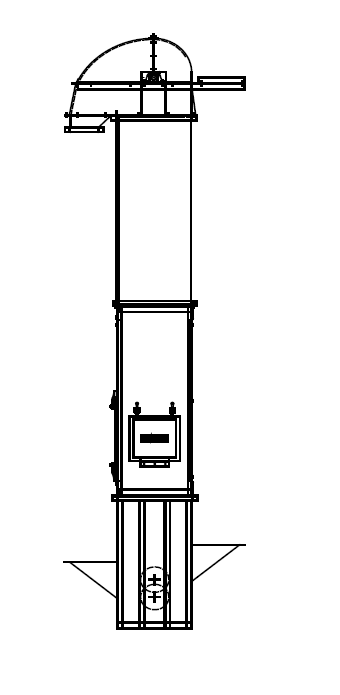 Bucket Elevator Drawing | Free download best Bucket Elevator Drawing