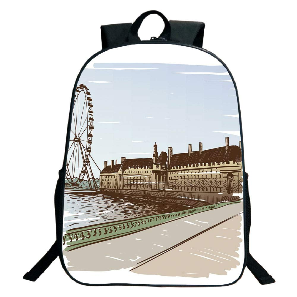 1000x1000 suitable for primary school students black school bag