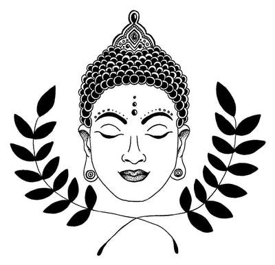 400x386 peace of mind buddha temporary tattoo and peace of mind buddha