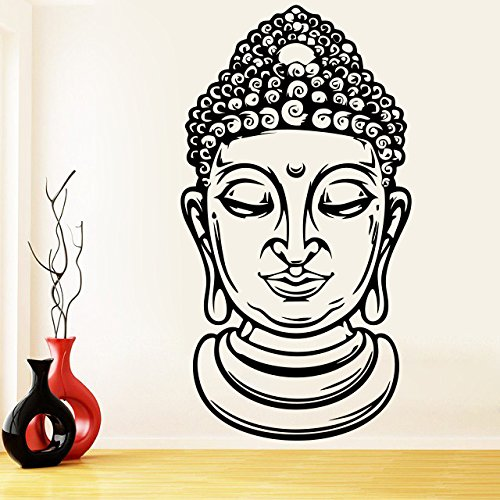 500x500 buy decor kafe home decor buddha face wall sticker, wall sticker