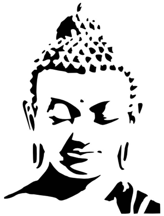 570x751 buddha queen mylar stencil design craft home decor painting etsy