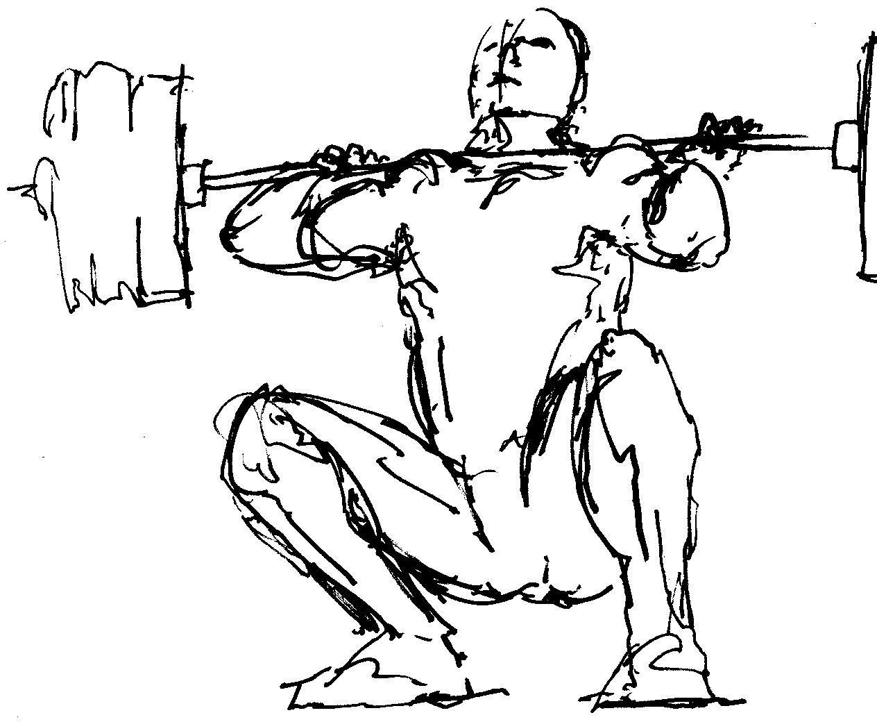 Buff Guy Drawing