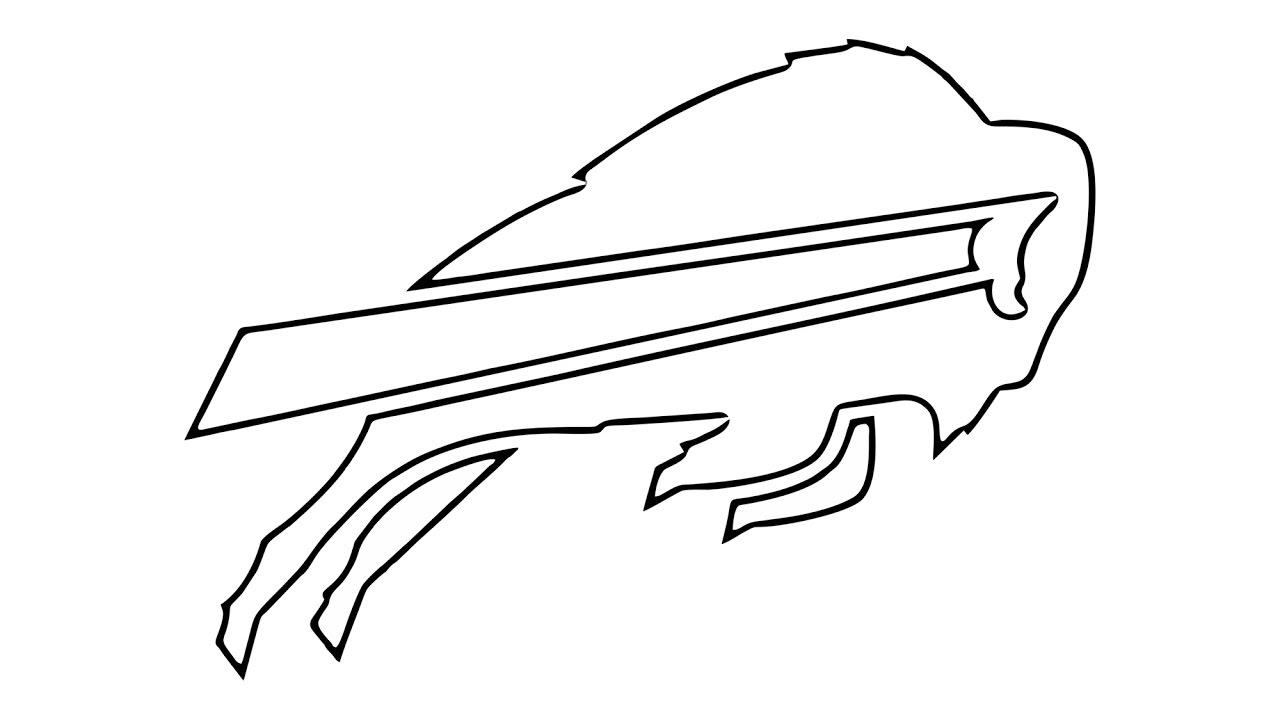 1280x720 How To Draw The Buffalo Bills Logo