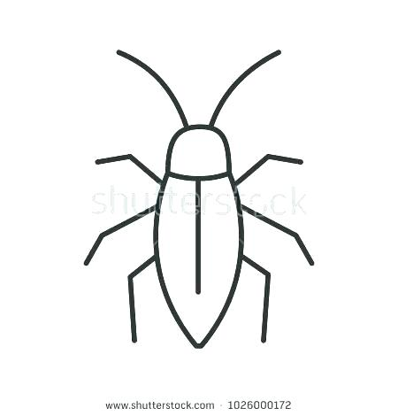 450x470 bug outline related post bug outline drawing
