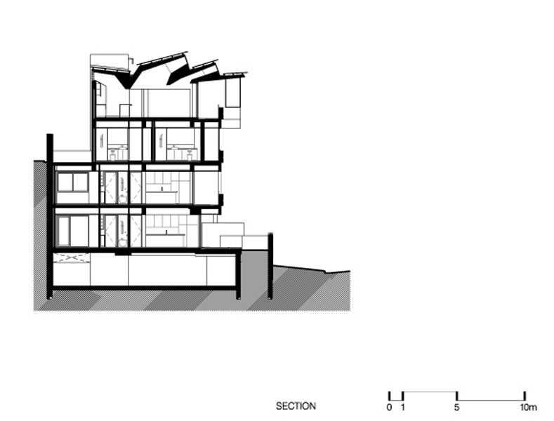 Building Section Drawing