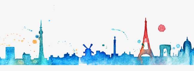 650x240 Drawing City, Watercolor, City, Building Png Image And Clipart