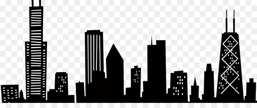 900x380 Skyline, Drawing, Silhouette, Transparent Png Image Clipart Free
