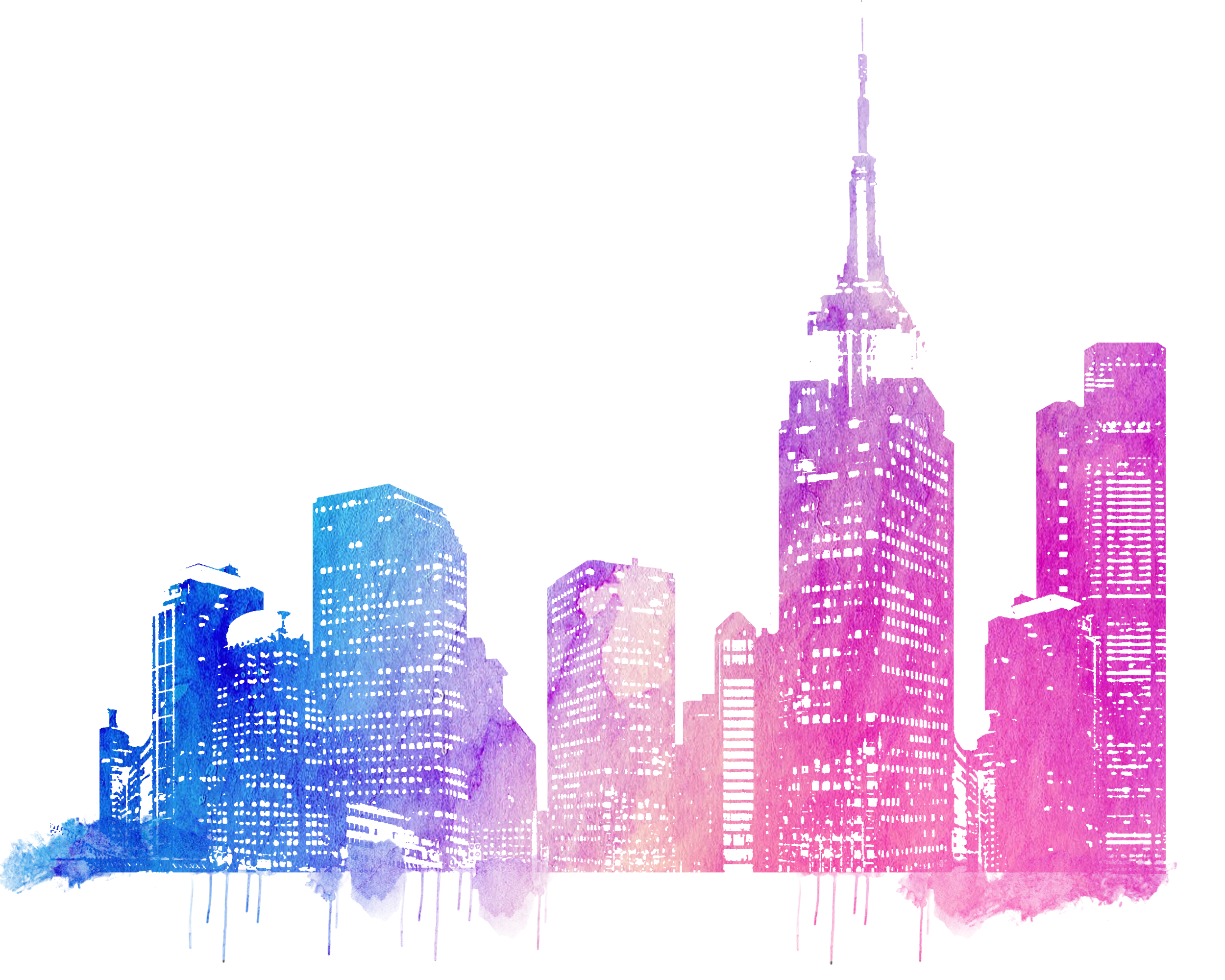 2500x2000 City Cityscape Skyline Horizon Line Drawing Sketch Free