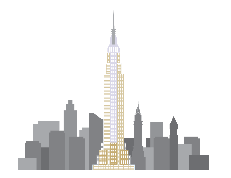 792x612 Empire Drawing Skyscraper Huge Freebie! Download For Powerpoint