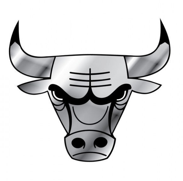 582x576 Awesome Chicago Bull Logo Drawing Plus Black Chicago Bulls Logos