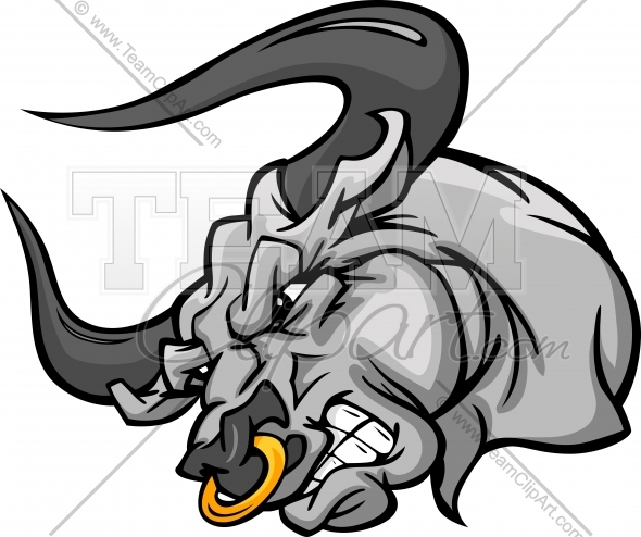 590x494 Huge Collection Of 'mean Bull Drawing' Download More Than