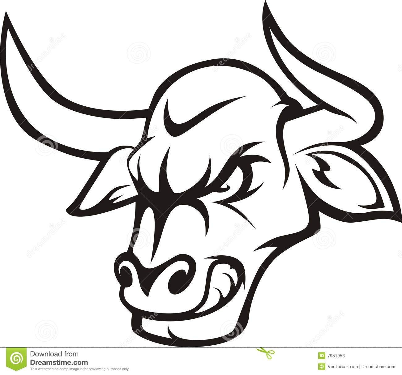 Bull Drawing For Kids   Free download best Bull Drawing For ...