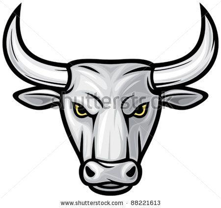 450x424 bull head stock photos, bull head stock photography, bull head